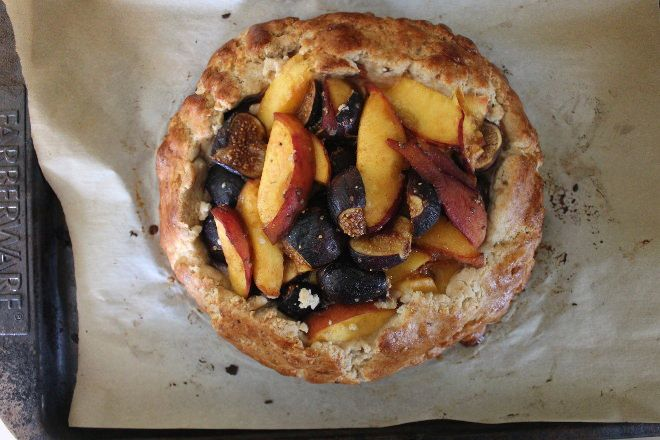 fruit will make the world of difference in end result of this galette ...