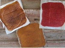 Fruit Leather | Apple Cinnamon, Strawberry, and Pear | nutritionstripped.com