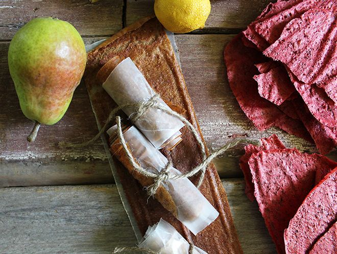Fruit Leather | Apple Cinnamon, Strawberry, and Pear ...