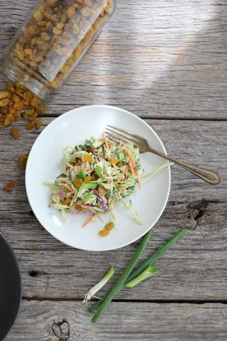 Rainbow Vegetable Slaw // nutritionstripped.com