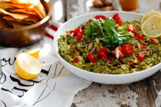 Curry Pea-Guacamole | Nutrition Stripped