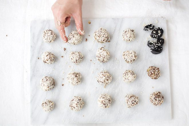 Sesame Seed Prune Balls | Nutrition Stripped