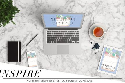 Style Your Screen July: Summer Market | Nutrition Stripped