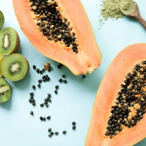 Papaya Kiwi Slush | Nutrition Stripped x Super Elixir
