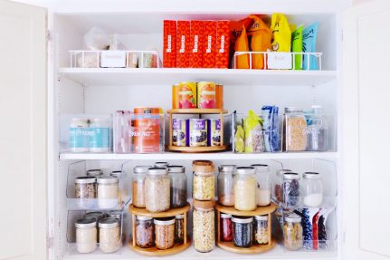 How to Organize Your Kitchen with The Home Edit | Nutrition Stripped