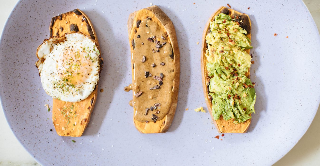 Sweet Potato Recipes: Toast Five Ways