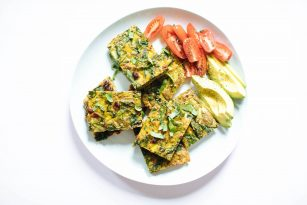 Veggie Egg Bake | Nutrition Stripped