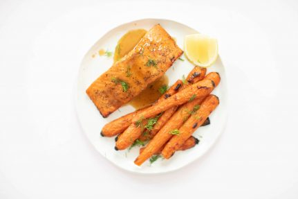 Maple Miso Glazed Salmon | Nutrition Stripped
