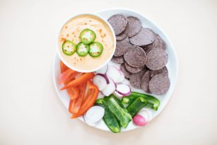 Smokey Cashew Queso Dip | Nutrition Stripped